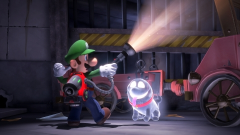 In Luigi's Mansion 3, Luigi embarks on a dream vacation with Mario and friends. However, his dream quickly becomes a nightmare. The game is scheduled to launch in 2019. (Photo: Business Wire)