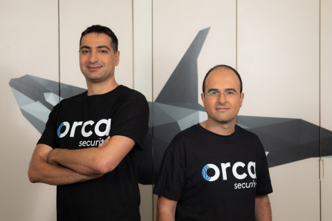 Orca Security Managing Founders - (r.) Avi Shua, CEO and co-founder and (l.) Gil Geron, Chief Product Officer and co-founder (Photo: Business Wire)