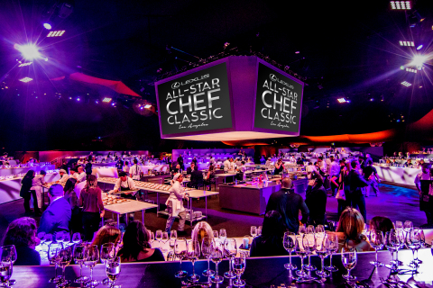 Lexus All-Star Chef Classic, which will take place October 2-5, 2019 at L.A. LIVE, offers a series of engaging experiences for guests, from multicourse-seated dinners to themed tasting events. (Photo: Business Wire)
