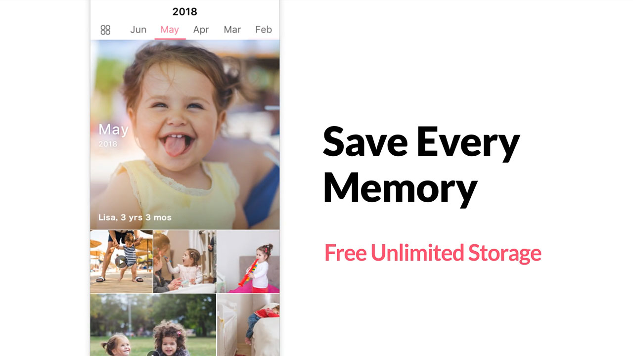 Share, save, and remember the special moments in your child's life with FamilyAlbum.