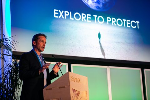 Fabien Cousteau helped raise the profile of marine conservation at EarthxOcean. (Photo: Business Wire)