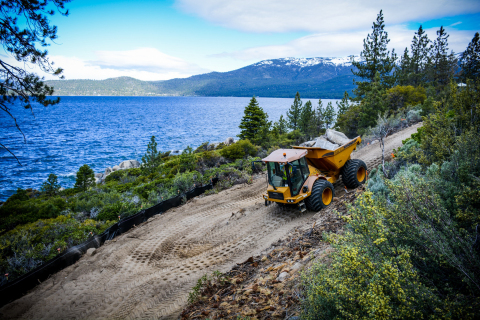 Tahoe Multi-Use Bike Path | Lake Tahoe, Nevada (Photo: Business Wire)