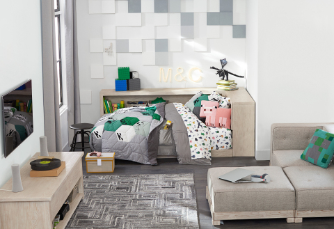 Minecraft x Pottery Barn Kids Collection (Photo: Business Wire)