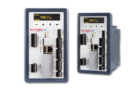 The new G5 DIN Rail Mount with Display (G5-RMD) provides enhanced visibility of process data such as weight and status, and the advanced display and functional keypad allow easy navigation through parameters, menus and settings. (Photo: Business Wire)