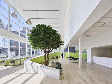 New York Proton Therapy Center Interior