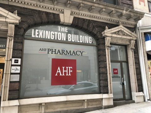 AIDS Healthcare Foundation (AHF) opens its first site in Baltimore Thursday, June 13th--a free HIV/AIDS treatment clinic, an AHF Wellness Center, and an AHF Pharmacy will soon follow at the location. (Photo: Business Wire)