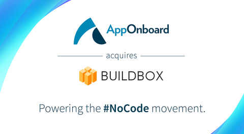 AppOnboard and Buildbox: Powering the #NoCode Movement (Graphic: Business Wire)