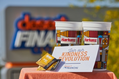 This Father's Day, Desert Financial Credit Union and Harkins Theatres are sending 500 Valley dads to the movies (Photo: Business Wire)