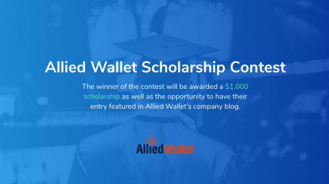 Allied Wallet is offering a scholarship opportunity. (Graphic: Business Wire)