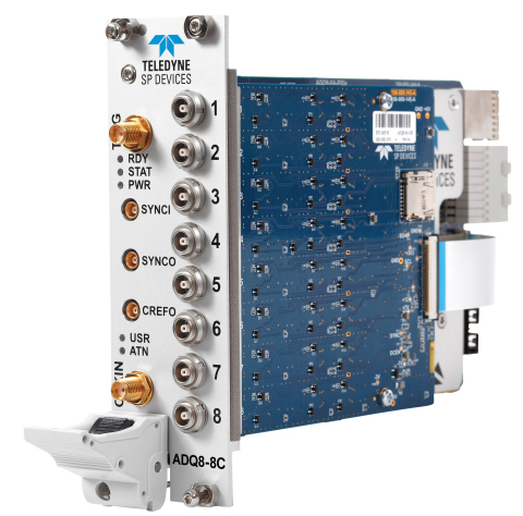 ADQ8-8C in PXI Express format is ideal for large multi-channel systems. (Photo: Business Wire)