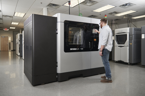 Stratasys F900 3D Printer and Aircraft Interiors Solution (AIS) provide a faster, more streamlined approach to qualify additively manufactured parts for aircraft installation (Photo: Business Wire).