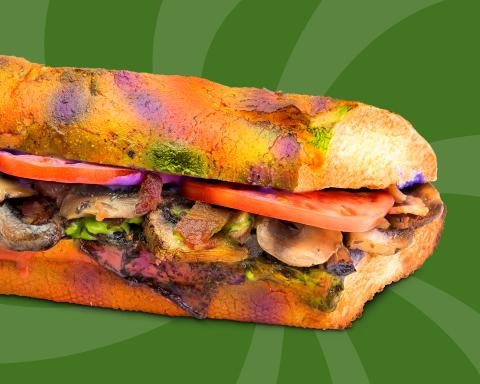 Quiznos' Magic Mushroom Melt (Photo: Business Wire)