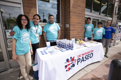 Testing event with local HIV organization at a Walgreens store in Chicago, Ill. (Photo: Business Wire)