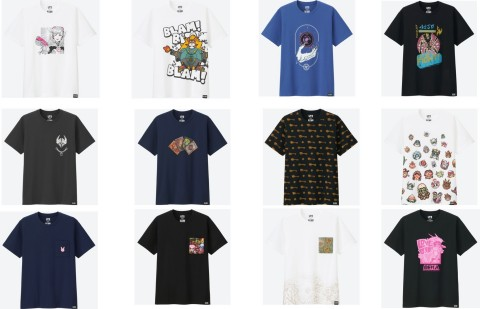 UNIQLO UT Line of Blizzard T-Shirts Launches Today (Graphic: Business Wire)