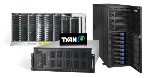 TYAN's Thunder HX Lineup Designed for AI Optimization and HPC Revolution (Photo: Business Wire)
