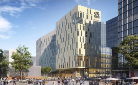 The College of Nursing and Health Professions, Drexel University, rendering (Graphic: Business Wire)