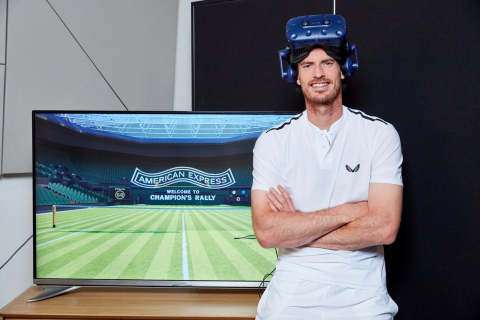 American Express announced its partnership with two-time Wimbledon champion Sir Andy Murray OBE, to kick off a multi-year partnership with The All England Lawn Tennis Club, as the Official Payment Partner of The Championships. (Photo: Business Wire)