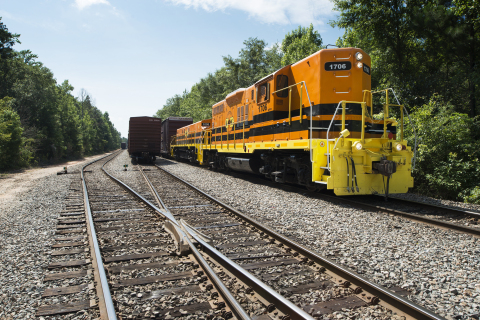 Georgia Central Railway, a 211-mile short line freight railroad operating between Macon and Savannah, thanks all those that facilitated the federal Consolidated Rail Infrastructure and Safety Improvements (CRISI) Program grant awarded to the City of Dublin last week. (Photo: Business Wire)