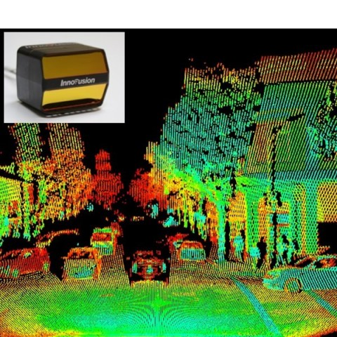 Innovusion's Cheetah long-distance LiDAR System...the safest in the mobility safety industry (Graphi ...