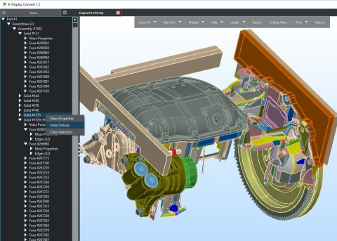 K-Display Convert opens and translates any major CAD format (Photo: Business Wire)