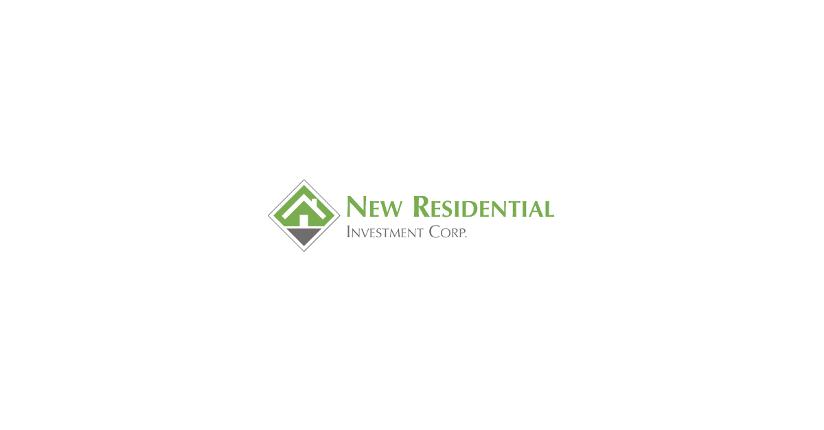 New Residential Investment Corp  Signs Asset Purchase Agreement with
