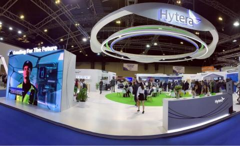 Hytera at CCW 2019 (Photo: Business Wire)