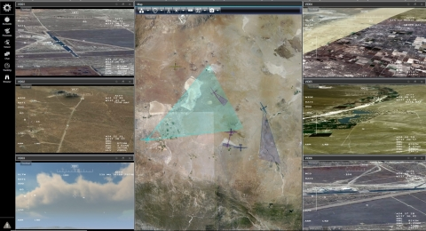 The System for Tactical Archival, Retrieval and Exploitation (STARE) is a component of GA-ASI's new Integrated Intelligence Center. STARE's Common Operation Picture shows the location of ISR assets, where they can look, and what they are currently looking at. STARE's automated Processing, Exploitation, and Dissemination capabilities produces actionable intelligence faster with reduced manpower. (Graphic: Business Wire)