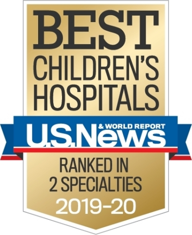 Ochsner Hospital for Children Named as Top 50 Children's Hospital in Two Specialties. (Graphic: Business Wire)