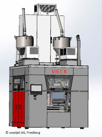 VJET X 3D Printer for Additive Mass Manufacturing (Photo: Business Wire)