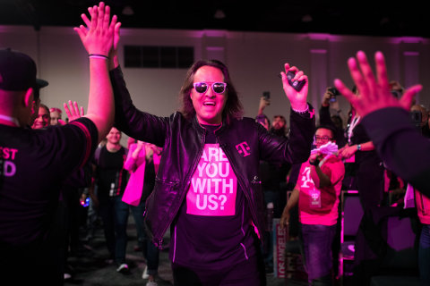 Employee Reviews on Glassdoor Rank T-Mobile CEO John Legere #1 Wireless CEO (Again for the 5th Year!) and #4 CEO in America (Photo: Business Wire)