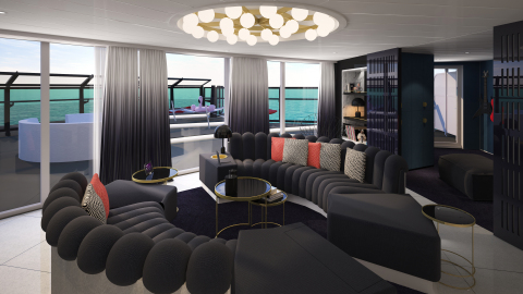 RockStar Suite on Virgin Voyages' Scarlet Lady (Photo: Business Wire)