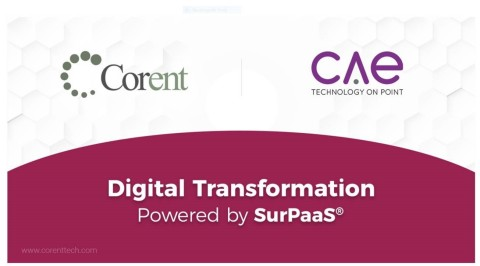 Corent Technology, a leader in Azure cloud migration, optimization and SaaSification technology, today announced it has entered into a partnership with CAE Technology Services Ltd (CAE), a leading solution provider in the UK market. (Graphic: Business Wire)