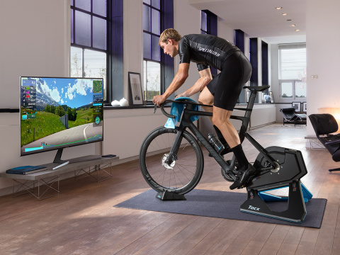 Tacx trainers and accessories available now from Garmin (Photo: Business Wire)