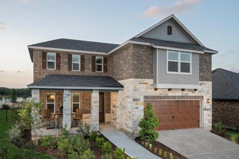 New KB homes in the Austin area. (Photo: Business Wire)