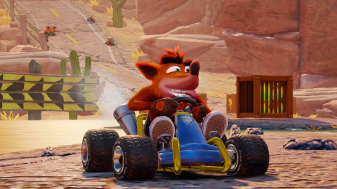 Get ready to go fur-throttle with Crash Team Racing Nitro-Fueled. (Photo: Business Wire)