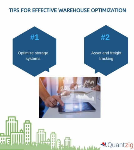Tips for Effective Warehouse Optimization (Graphic: Business Wire)