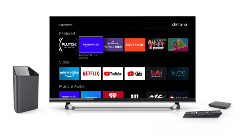 Comcast today announced the launch of Amazon Music on Xfinity X1 and Xfinity Flex. (Photo: Business Wire)