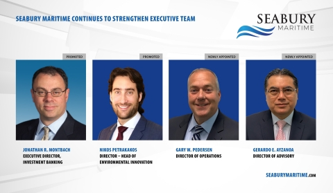The key promotions and new appointments further advance Seabury Maritime's growth strategy to provide an integrated end-to-end solution platform for the company's growing client base in the maritime sector. (Photo: Business Wire)