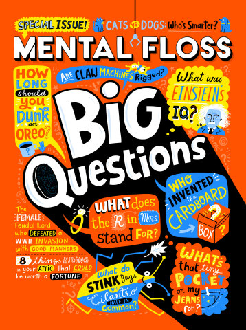 Mental Floss Magazine Cover (Photo: Business Wire)