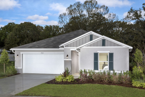 New KB homes are available in the Orlando area. (Photo: Business Wire)