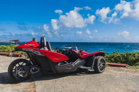 """Polaris Slingshot Wants to Send You to Hawaii to Celebrate the """"Summer of Fun"""" (Photo: Polaris)."""