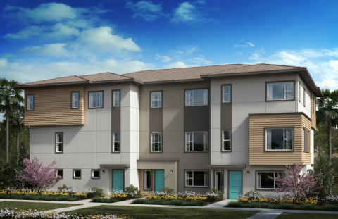 New KB homes now available in the Los Angeles area. (Photo: Business Wire)