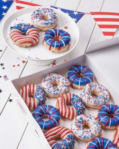 Doughnut collection available for a limited time beginning Monday, June 24 and special offer for Reward members on July 4  (Photo: Business Wire)
