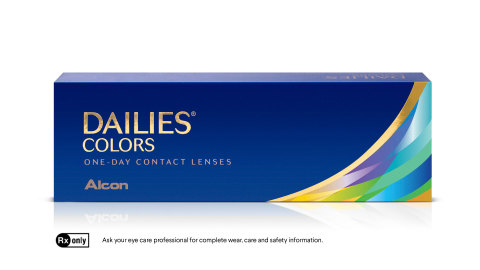 Alcon Launches New DAILIES® COLORS Contact Lenses to Allow Consumers to Play With Their Eye Color Every Day (Photo: Business Wire)
