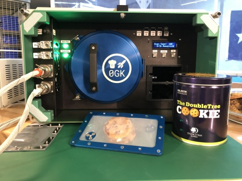 Zero G Kitchen Space Oven (Photo: Business Wire)