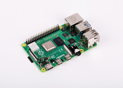 Raspberry Pi 4 (Photo: Business Wire)