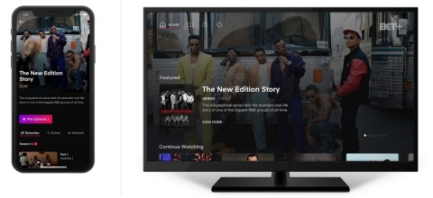 BET+, the new online streaming service, will launch with more than 1,000 hours of premium content including beloved hit movies and TV shows, new exclusive originals, and recent seasons of current shows from top black creators and talent. (Photo: Business Wire)