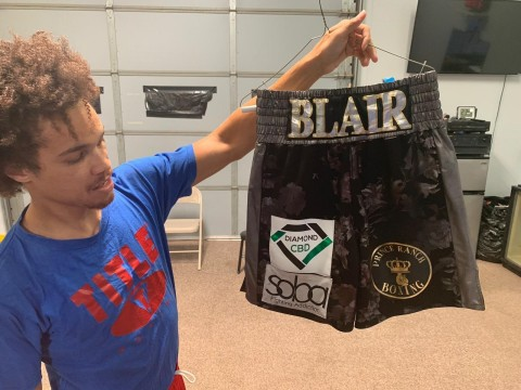Blair Sports Diamond CBD in the Ring (Photo: Business Wire)
