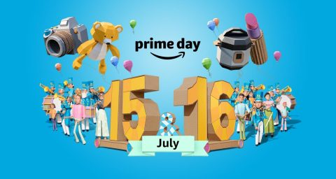 Prime Day starts at midnight PT on Monday, July 15 and – for the first time ever – runs for 48 hours, offering members two full days with more than one million deals around the world. (Photo: Business Wire)