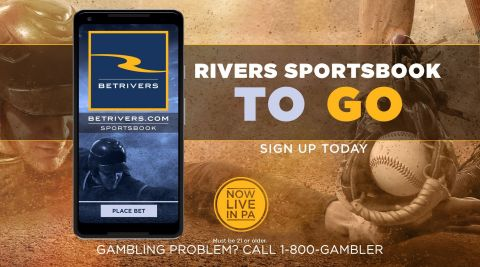 Rivers Casino Pittsburgh, along with sports betting provider, Rush Street Interactive, today launched Rush Street's second online and mobile sportsbook for Pennsylvania—called BetRivers.com. (Graphic: Business Wire)